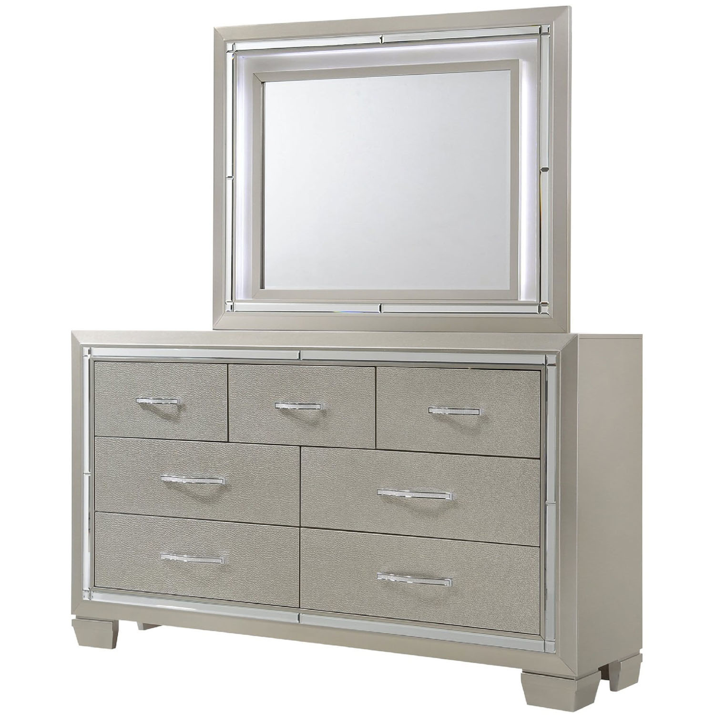 Elegance 5PC Full Size Bedroom Suite 98117A5F1 CM