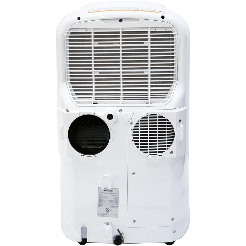 Whirlpool 14,000 BTU Dual-Exhaust Portable Air Conditioner ...