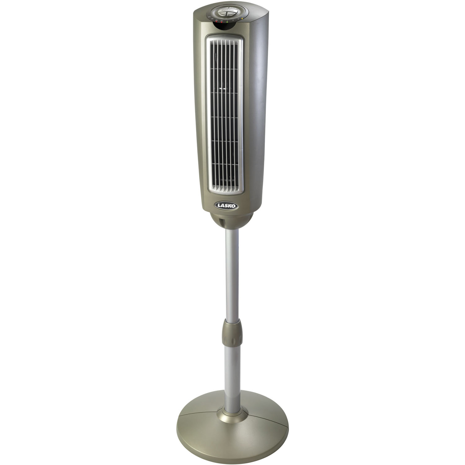 Remote Control Fans Table Top : Lasko in space saving oscillating tower fan with