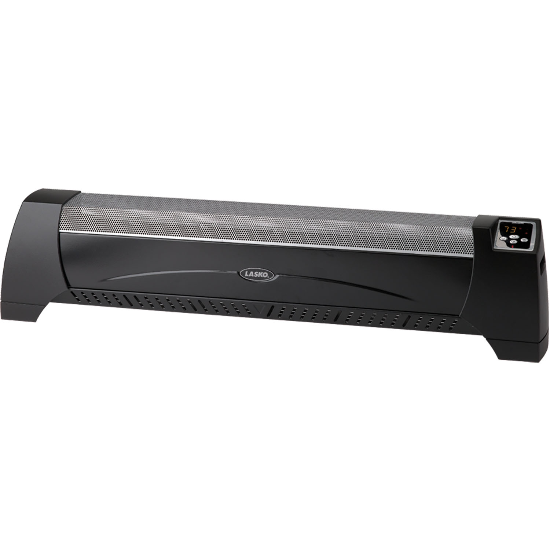 Lasko Silent Low Profile Room Heater With Digital Display