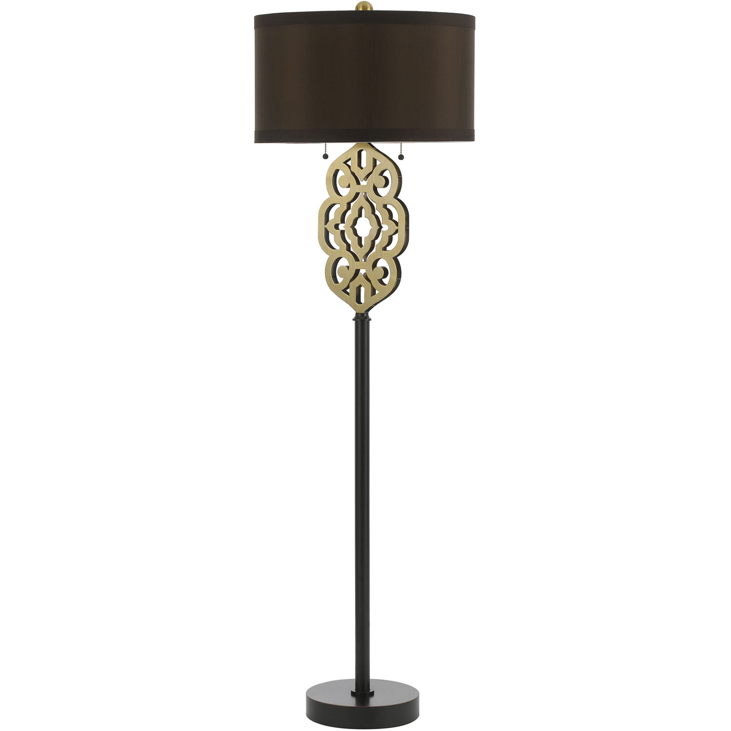 Grill floor lamp satin brass 8424 fl for Montana floor lamp satin brass