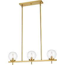 AF Lighting Odessa Three-Light Hanging Pendant, 9147-3H