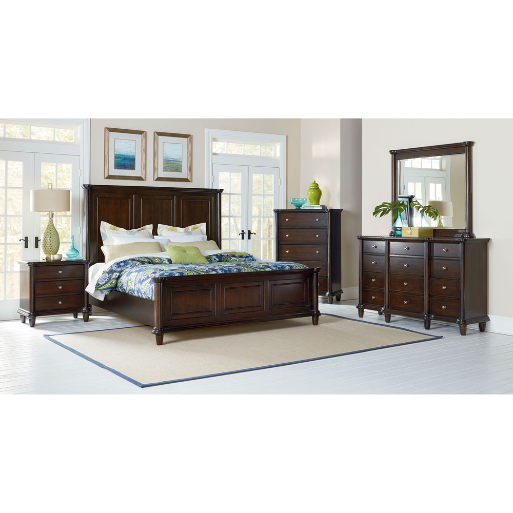 Cambridge Dover 5PC Queen Size Bedroom Suite 98120A5Q1 DC