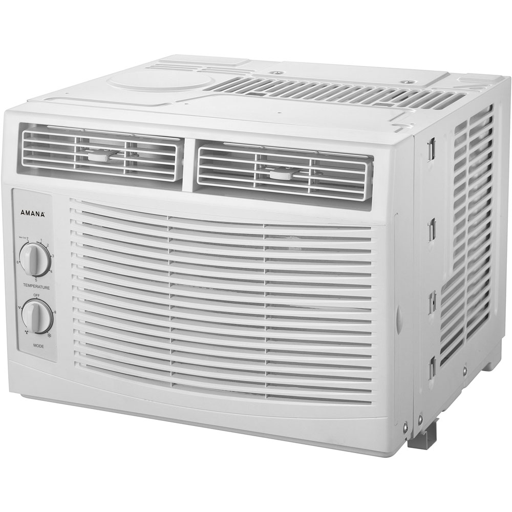 Amana 5 000 Btu 115v Window Mounted Air Conditioner With