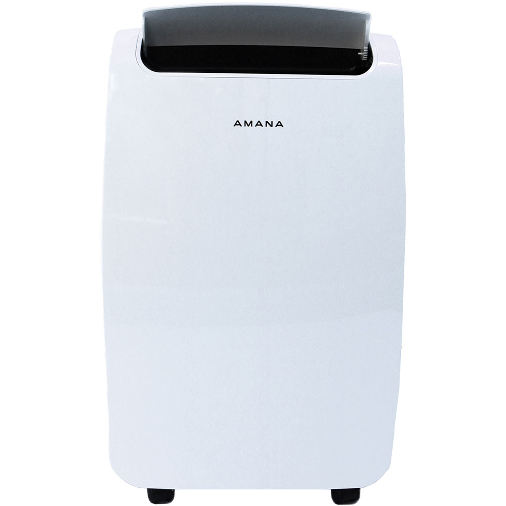 amana 7 000 btu portable air conditioner with remote control in white amap081aw. Black Bedroom Furniture Sets. Home Design Ideas