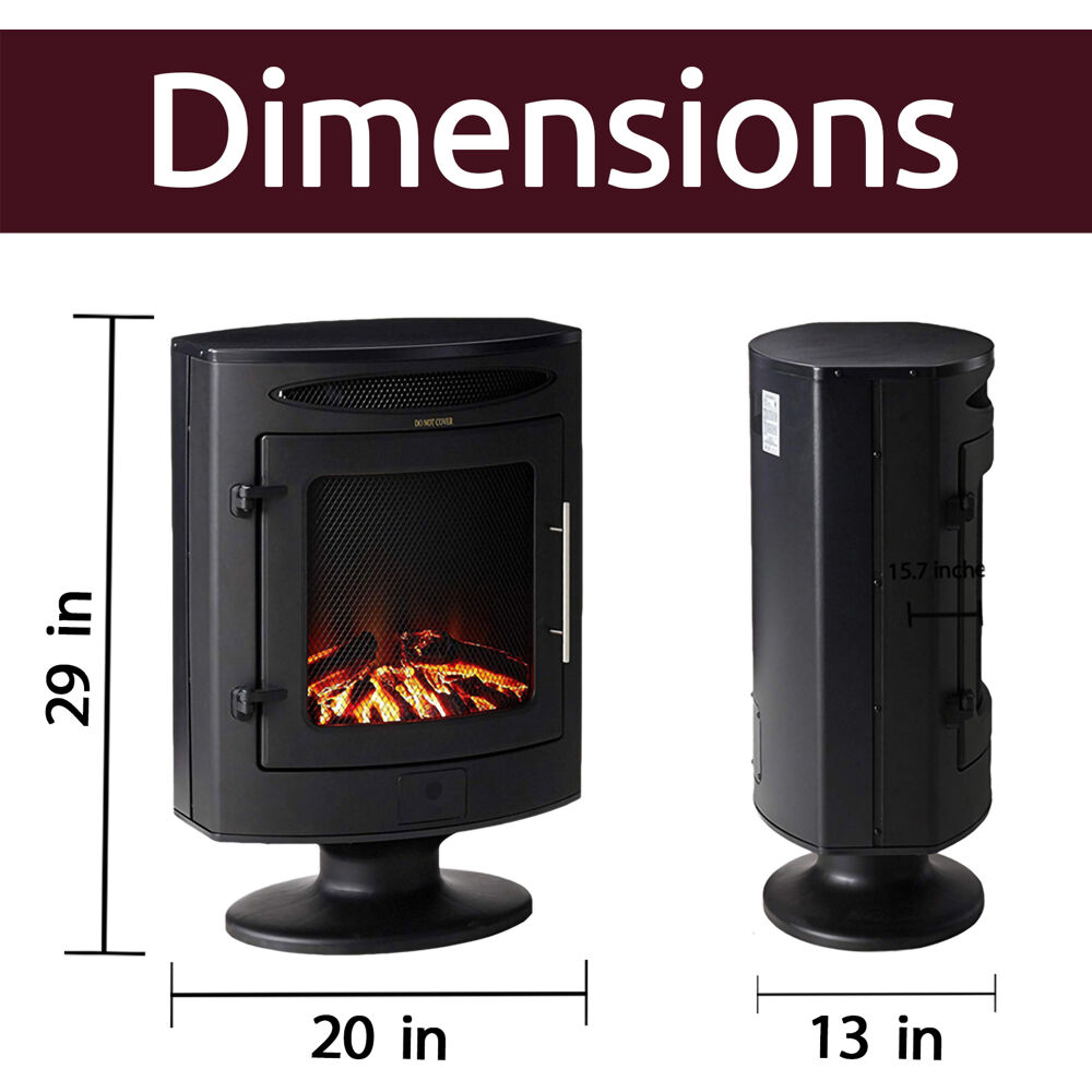 20 Off Cambridge 1500w Freestanding Electric Fireplace