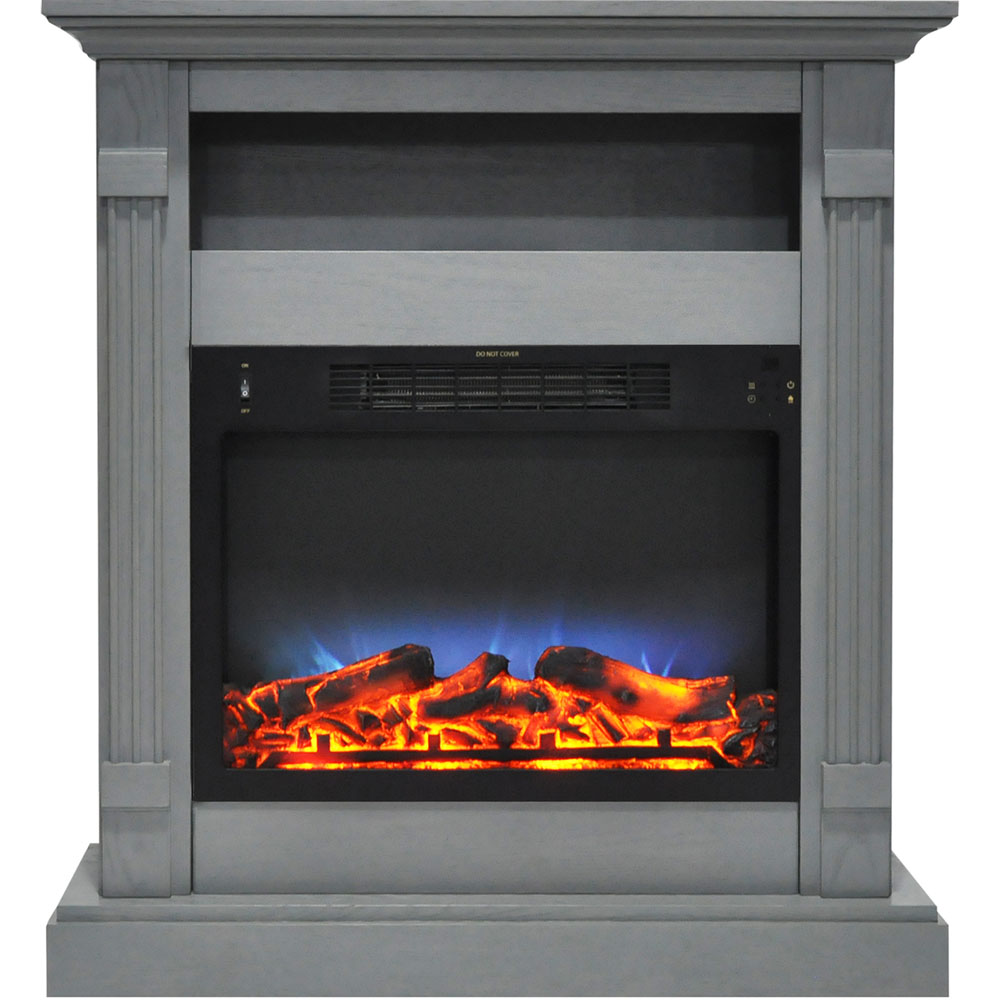 Cambridge Sienna 34 In Electric Fireplace W Multi Color