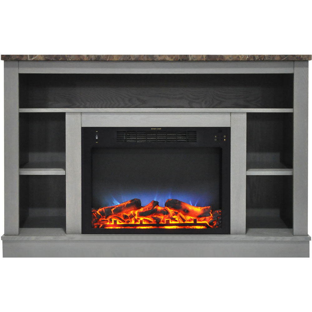 Cambridge 47 In Electric Fireplace With A Multi Color Led