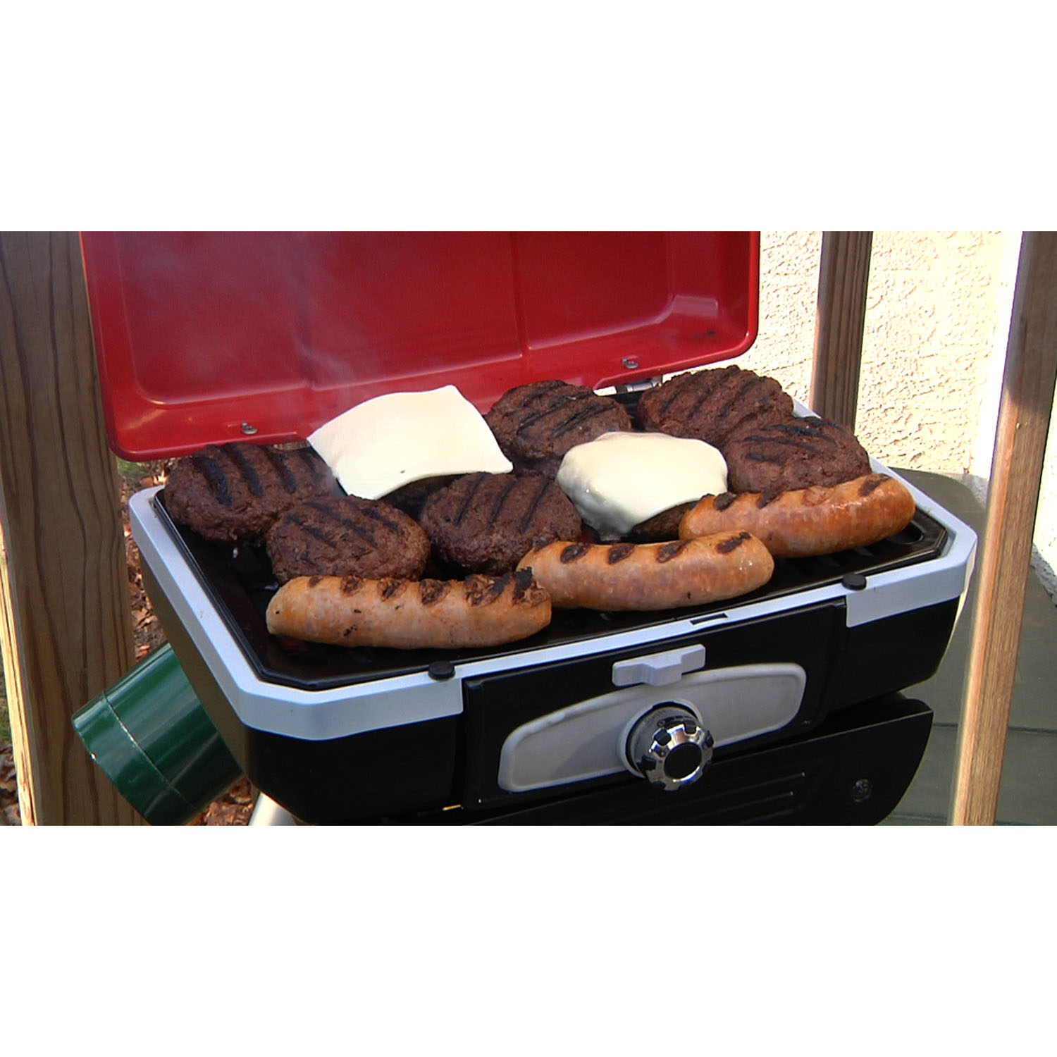 Cuisinart Petit Gourmet Portable Outdoor LP Gas Grill With