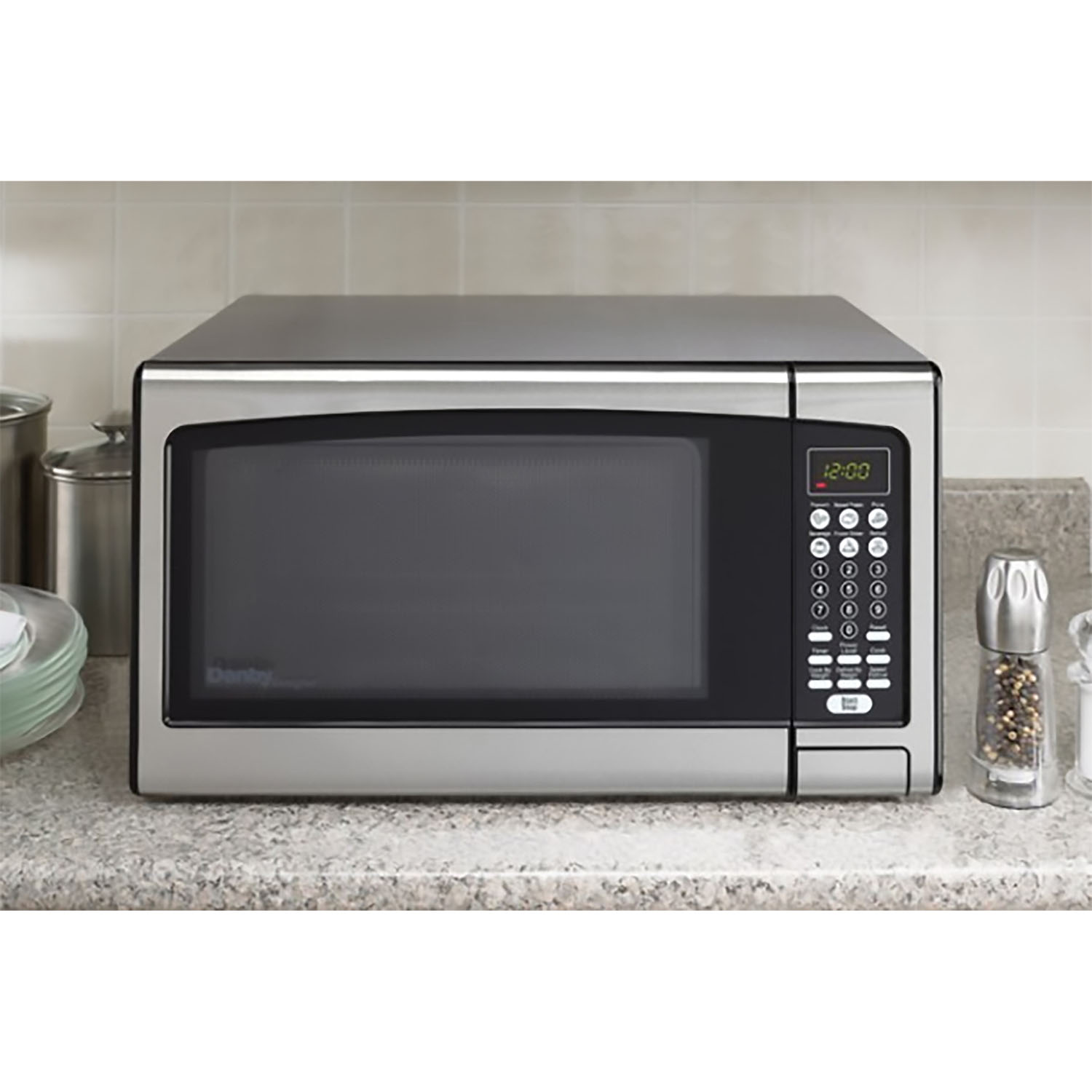 Danby Designer 1 1 Cu Ft Microwave Oven In Stainless