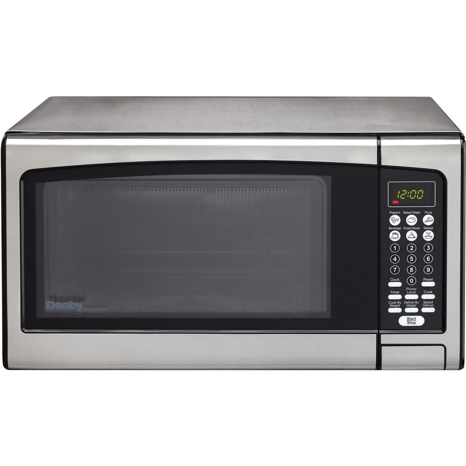 Microwave Oven Stainless Steel: Danby Designer 1.1 Cu. Ft. Microwave Oven In Stainless
