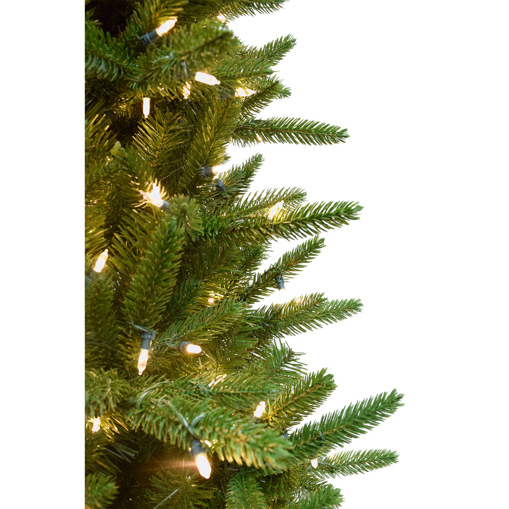 Fraser Hill Farm 6 5 Ft Carmel Pine Slim Artificial