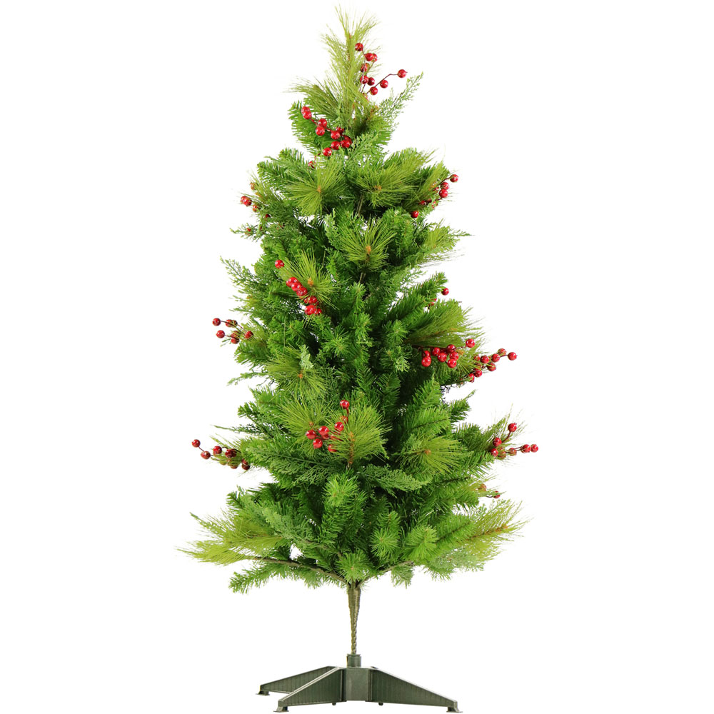 Fraser Hill Farm Set Of Two 4 Ft Newberry Pine Artificial