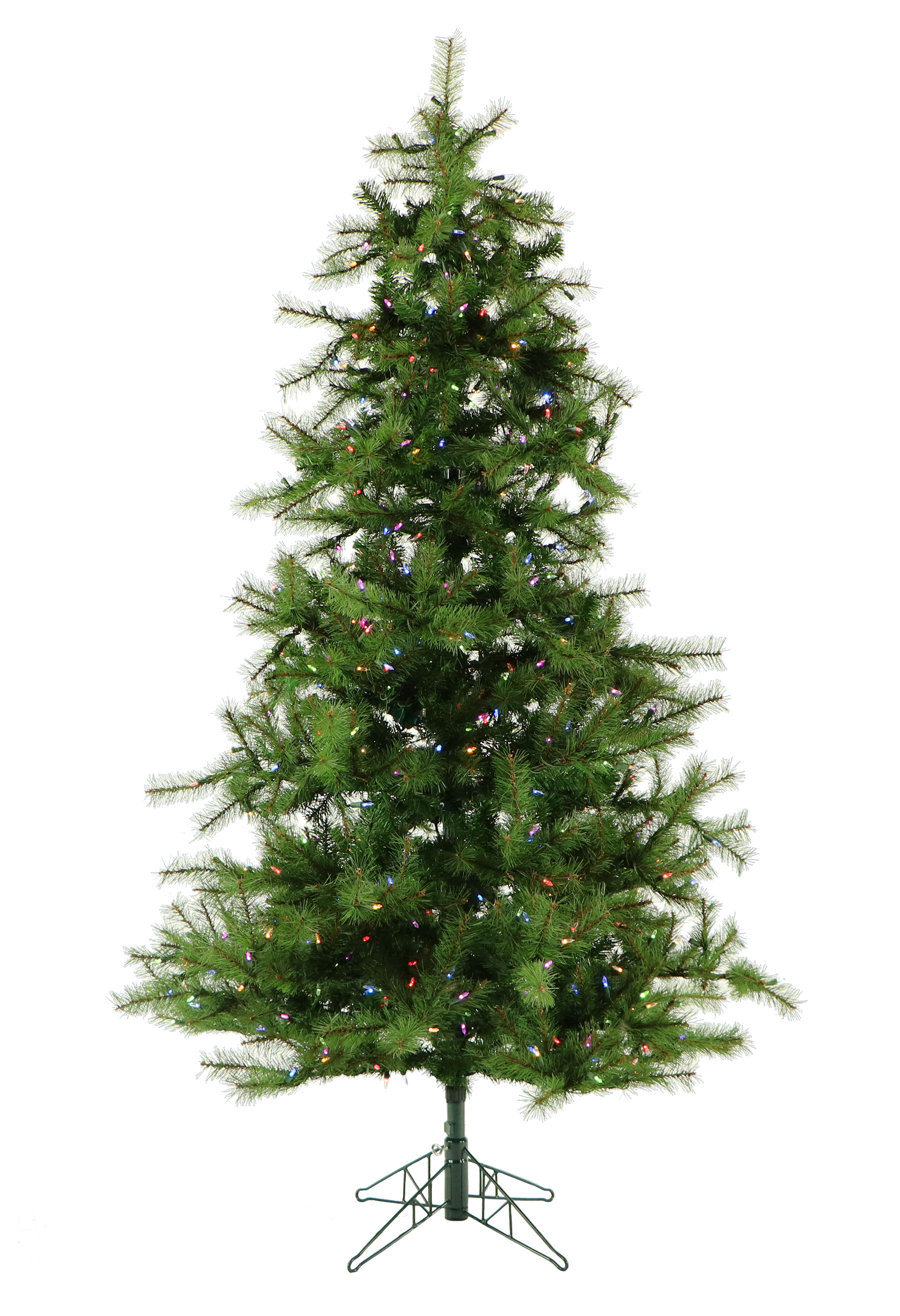 12 Ft. Southern Peace Pine Christmas Tree with Multi-Color LED ...