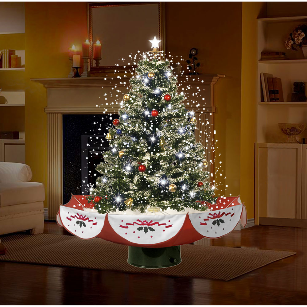 "Snowing And Musical Christmas Tree: Fraser Hill Farm 29"" Snowing Musical Christmas Tree With"