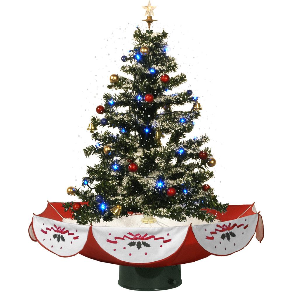 "Steele S Christmas Tree Farm: Fraser Hill Farm 29"" Snowing Musical Christmas Tree With"