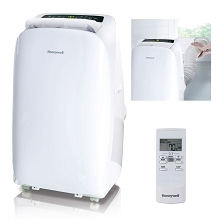 Portable Air Conditioner with Dehumidifier & Fan for Rooms Up To 550 Sq. Ft. with Remote Control (White) - HL12CESWW