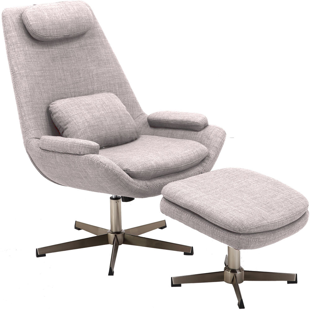 Hanover Westin Mid-Century Modern Scoop Lounge Chair and ...
