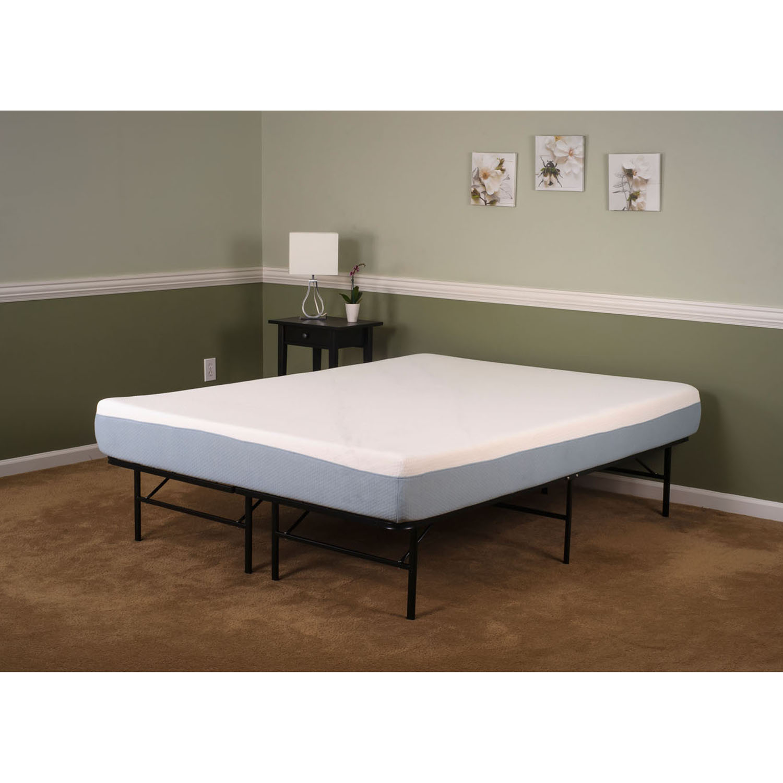 12 in tranquility memory foam king mattress hmatmf12 kg. Black Bedroom Furniture Sets. Home Design Ideas