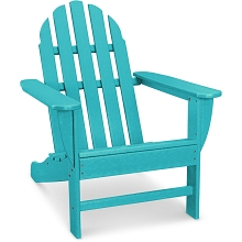 Hanover Classic All-Weather Adirondack Chair in Aruba Blue, HVAD4030AR