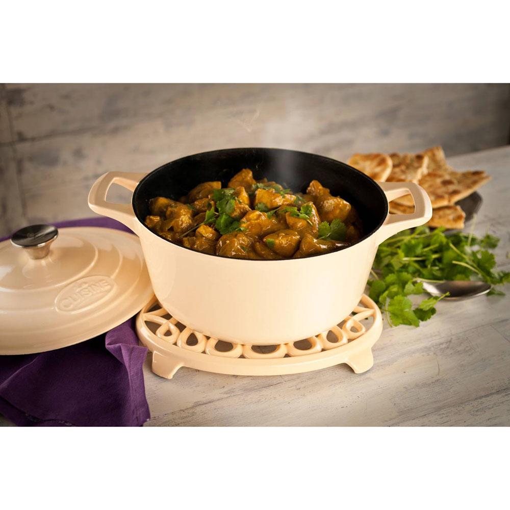La cuisine pro 6pc enameled cast iron cookware set in for Four cuisine pro