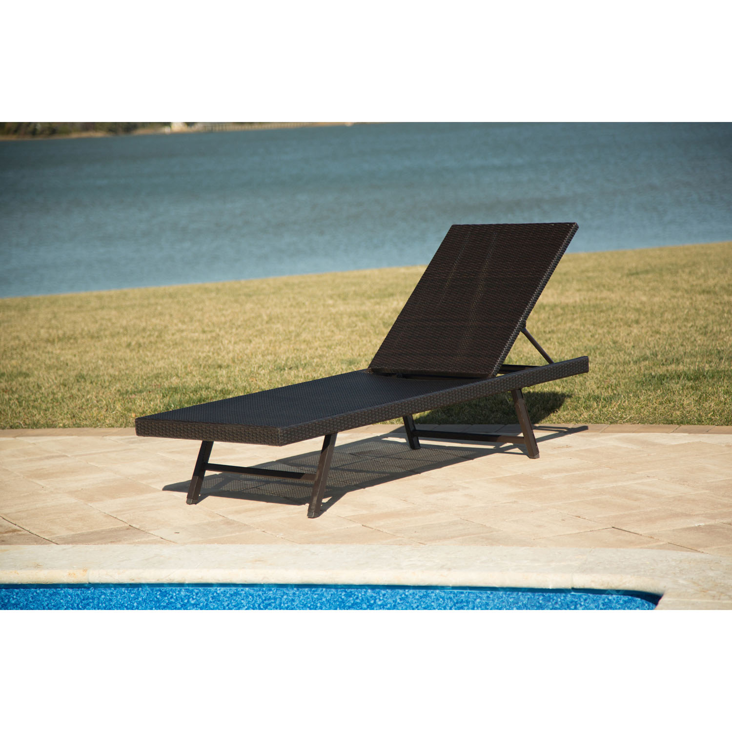 Orleans woven chaise lounge chair orleanschaise for Chaise lounge company