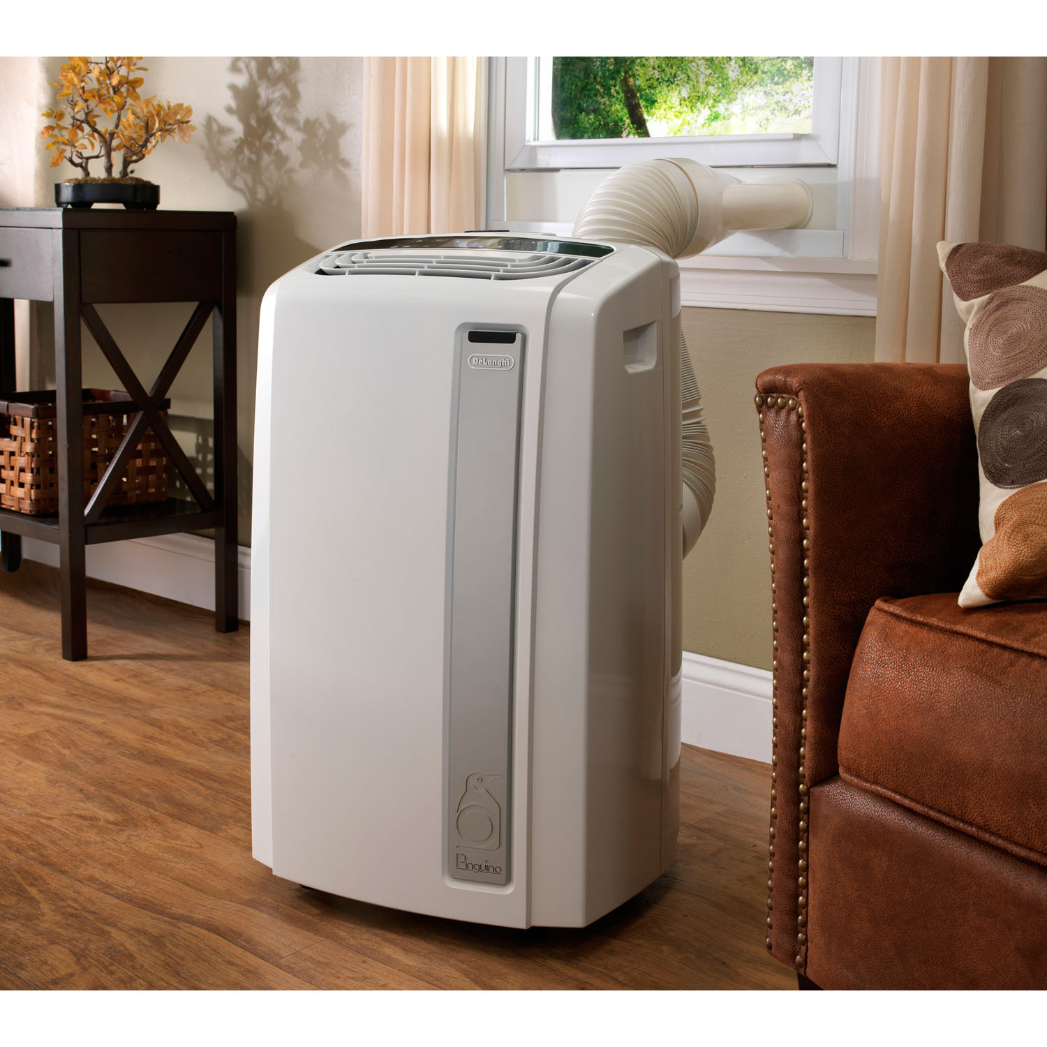 Delonghi pinguino whisper quiet 12 000 btu portable air for 11000 btu window air conditioner