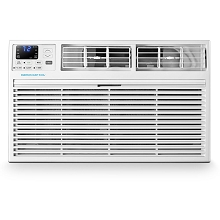 Emerson Quiet Kool 230V 12,000 BTU Through-the-Wall Air Conditioner with 10,600 BTU Supplemental Heating, EATE12RD2T