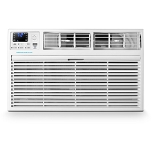 Emerson Quiet Kool 230V 12,000 BTU SMART Through-the-Wall Air Conditioner with 10,600 BTU Supplemental Heating, EATE12RSD2T