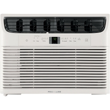 Frigidaire Energy Star 12,000 BTU 115V Window-Mounted Compact Air Conditioner with Full-Function Remote Control, FFRE123WAE