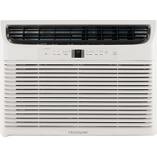 Frigidaire Energy Star 25,000 BTU 230V Window-Mounted Heavy-Duty Air Conditioner with Full-Function Remote Control, FFRE253WAE