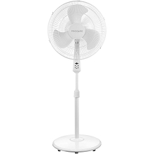 Frigidaire 18-In. Oscillating Pedestal Fan with Remote Control, FGD-CR18-WHT