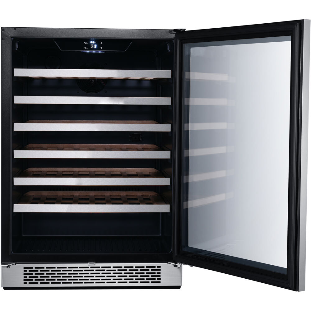 Hanover The Vault 24 In Single Zone Wine Cooler With 54
