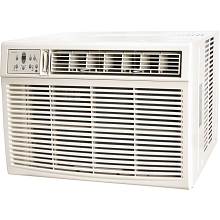 Keystone 25,000/24,700 BTU 230V Window/Wall Air Conditioner with 16,000 BTU Supplemental Heat Capability, KSTHW25A