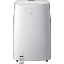 LG 115V Dual Inverter Portable Air Conditioner with Wi-Fi Control in White for Rooms up to 500 Sq. Ft., LP1419IVSM