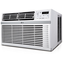LG Energy Star Rated 8,200 BTU Window Air Conditioner with Remote Control in White, LW8019ER