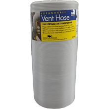 A/C Safe Expandable Vent Hose for Portable Air Conditioners, PAC-6H