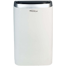 SoleusAir 14,000 BTU Portable Air Conditioner with 11,000 BTU Supplemental Heat and MyTemp Remote Control, PSC-14HP-01