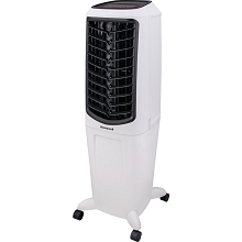 Honeywell 470-588 CFM Indoor Evaporative Air Cooler (Swamp Cooler) with Remote Control in White, TC30PEU