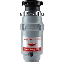 Waste King Legend Series 1/2 HP EZ-Mount Garbage Disposer - 1001