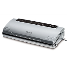 Caso Design VC 100 Food Vacuum Sealer with Food Vacuum Hose and Food Management App , 11380