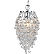 Crystal Teardrop Mini Chandelier - 4950-1H