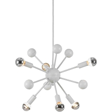 Satellite Pendant in White - 5200-6H
