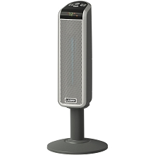 Lasko Space-Saving Ceramic Pedestal Heater with Remote Control - 5397