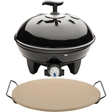 Cadac Citi Chef 40 Tabletop Grill & Pizza Stone - 5600-20-US/98368-US-KIT