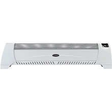 Lasko Silent Low-Profile Room Heater with Digital Display - White - 5622