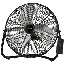 Lasko lasko stanley 20 in high velocity floorwall mount fan with remote control publicscrutiny