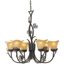 Alpine Chandelier - 6644-6H
