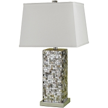 6671 Mosaic Table Lamp