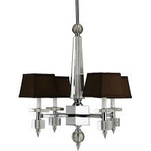 6686 4-Light Crystal Chandelier